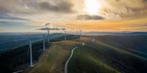Central Asia's largest wind farm was connected to the grid