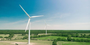 The first private wind farm to be constructed in North Macedonia